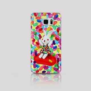 (Rabbit Mint) Mint Rabbit Phone Case - Bu Mali Candy Merry Boo Jelly Bean - Samsung Note 5 (M0020)