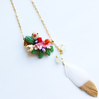 Early Spring Handmade Necklace