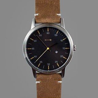 Vintage Mark One (Modern Vintage Watch) - Black Dial