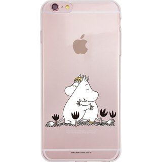 Moomin 噜噜 米 authorized - [you are in good] - TPU phone shell, AE79