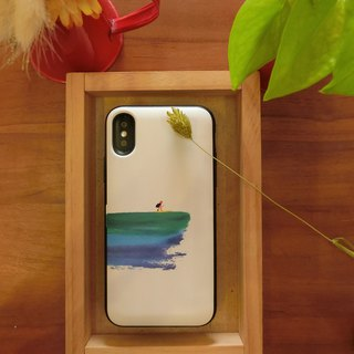 【SURFING】Card Case /Special Design iPhoneX 8+ 7 6S plus||SamsungNote8/5 S9+S8+S9