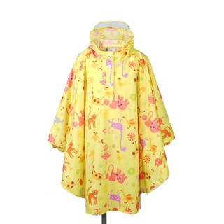 Waterproof breathable printed children raincoat <Happy Farm>
