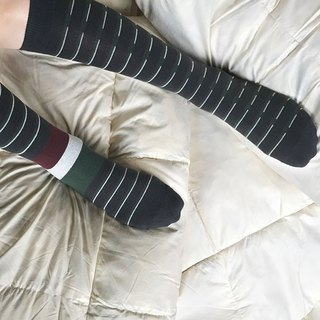 socks_midnight grey / irregular / socks / stripes / stripes