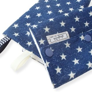 DROOL PADS, 口巾布, Ergo, Baby Carrier, Star Navy Denim , Japanese Cotton