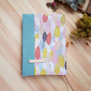 A5/25K cloth book adjustable book cover colored leaves