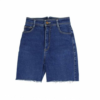 Tsubasa.Y Vintage House Blue 009, Denim Shorts Denim Shorts