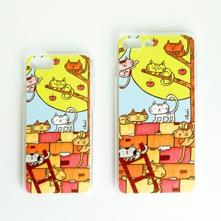 iPhone Case for 7 / 7Plus / 8 / 8Plus / Cat Wall
