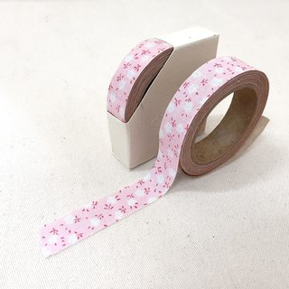 Cloth tape - spring floral [cotton candy powder]