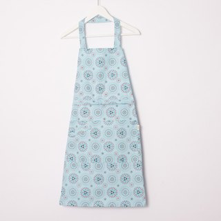 Full/Half 2 Way Apron / Firework / Sky Blue