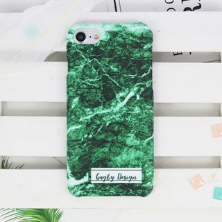 Personalised Name Marble Matt finishes rigid hard Phone case iPhone X 8 7 6 Plus