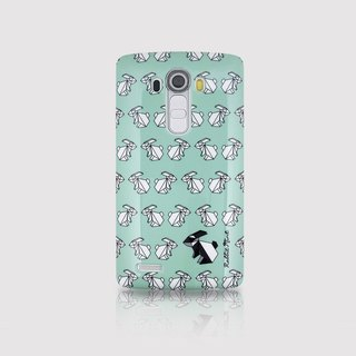 (Rabbit Mint) Mint Rabbit Phone Case - Origami Rabbit Series - LG G4 (P00078)