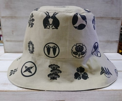 Japanese style double-sided fisherman hat sun hat