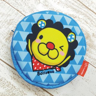 """Balloon"" light waterproof round storage bag - petal lion"