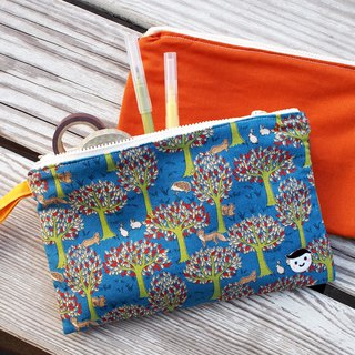 Child Friendly Alliance - Warm Orange Forest Hedgehog Storage Bag