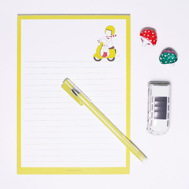 Happy Riding | Notebook / Letter paper