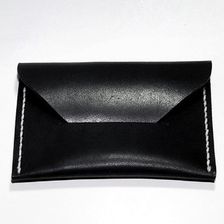 Simple leather business card holder