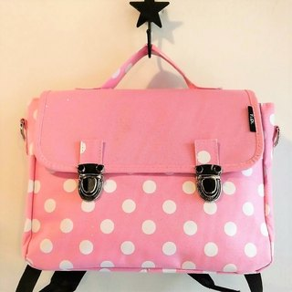 TiDi bright pink little French square bag