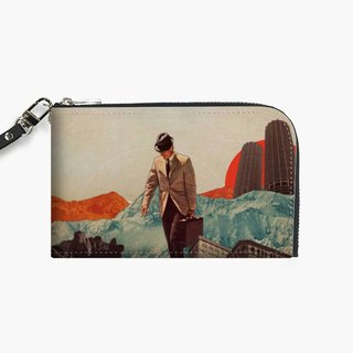 Snupped Isotope - Phone Pouch - Leaving Their Cities Behind