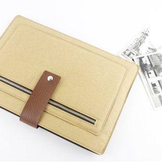 Special offer only one washed kraft paper Macbook Air 13 吋 pen electric bag computer bag