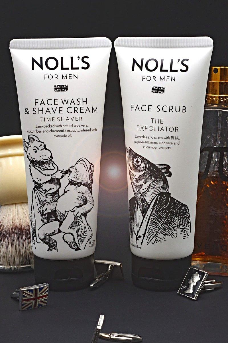 刮鬍護理套裝組(臉部去角質霜+洗面刮鬍乳)-溫和刮鬍及去角質