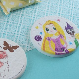 [Valentine's Day gift] long hair princess - Genuine Disney diatomite absorbent pad