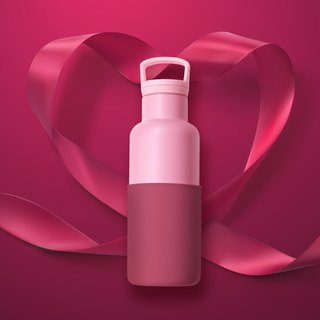 [Mother's Day Asian Limited Edition] Wine Red - Rose Powder | CinCin Déco Series 480ml