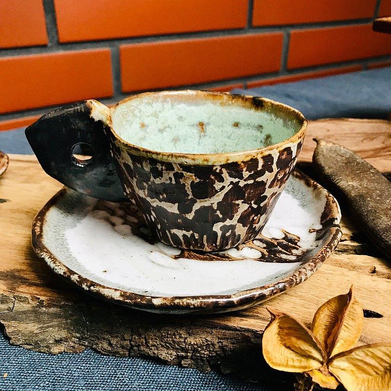 原始 - 小咖啡杯 (咖啡色)