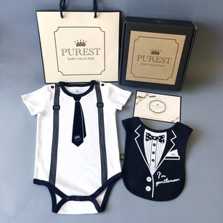 PUREST little gentleman / 漾 漾 pocket is very handsome / comprehensive gift box group / baby Mi Yue / birthday / gift preferred