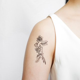 Flower chain temporary tattoo buy 3 get 1 Floral tattoo party wedding decoration