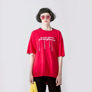 UNISEX SHORT SLEEVED T SHIRT / Red