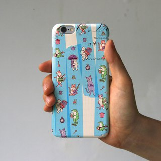 iPhone Case Masking Tape Blue