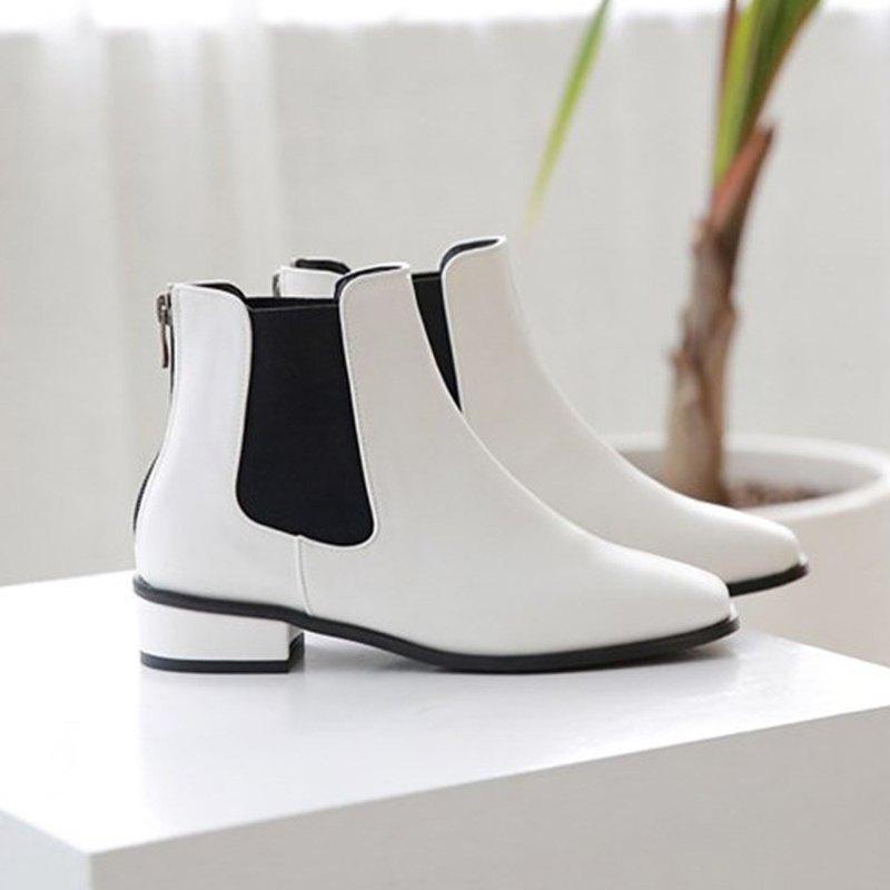 PRE-ORDER 韓國人手製 MACMOC Kalli (White) 短靴