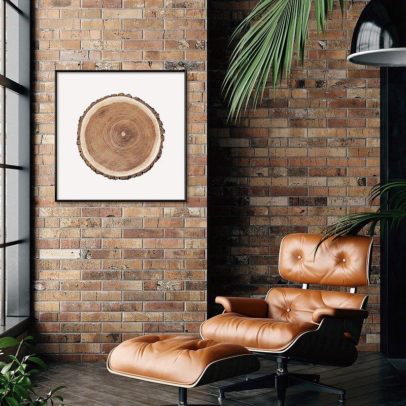 方 • 年輪II- 方形掛畫/家居佈置/植物/花/客廳/北歐/複製畫
