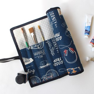 Small fresh daily painting bag / pencil bag tool storage bag piping 巻 ス ス ス watercolor cookware
