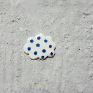 Soft cloud ceramic pin
