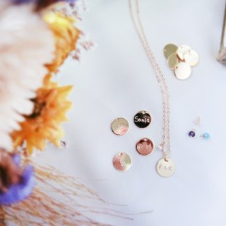[Sticky TT] small round hand knocking necklace series chain long chain