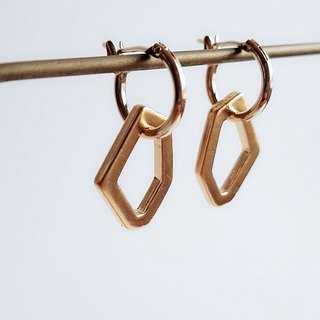 Handmade Lingling Brass • Earrings