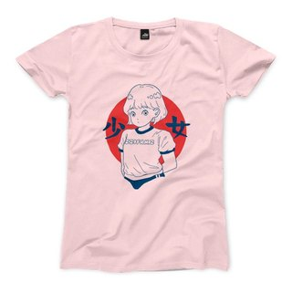 Girls - Pink - Female T-shirts