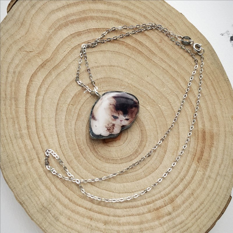 21a766c6f5a6 Playful Cat Jojo Stardust 925 Silver Handmade Necklace - Designer House of  Cats