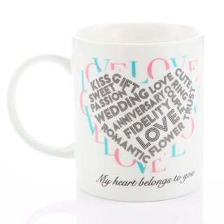 Engels Co. For Lovers' Only Valentine's Mug-1