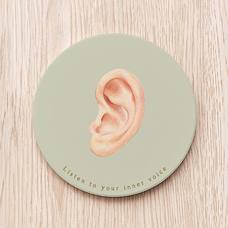 Happy New Ear Happy New Year Ear Ceramic Coaster