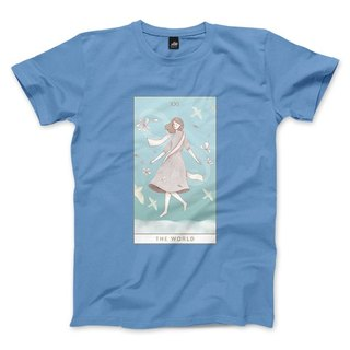 XXI | The World - Carlo Blue - Unisex T-Shirt