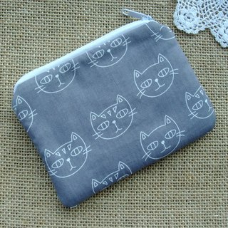 Zipper pouch / coin purse (padded) (ZS-269)