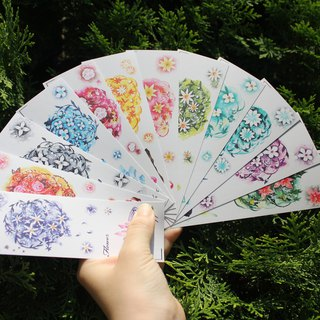 Flower cluster Bookmark