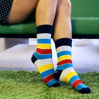 Women's Socks - York, Chalk & Cheese - British Design for Stylish Ladies