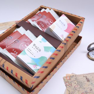 Ten full of beautiful tea to wash tea gift box