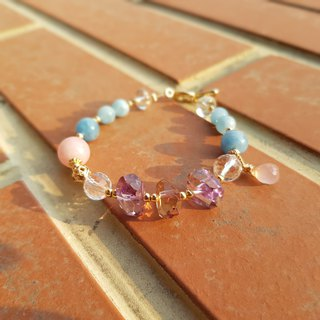 Girl Crystal World [Hope of Hope] - Amethyst Bracelet Bracelet Natural Crystal Gemstone Handmade