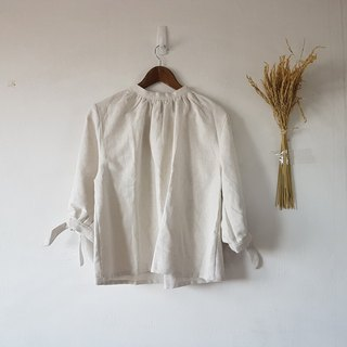 Sheintieoff blouse in white