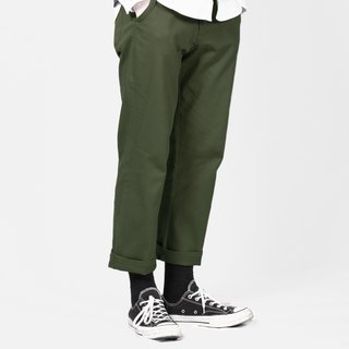 Wide Pants Wide Chino Pants / plain / simple / couple clothes