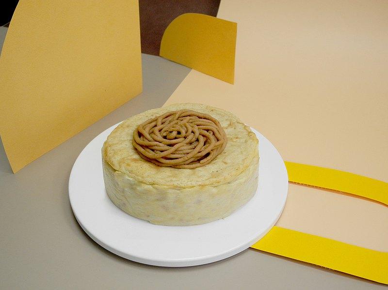 蜜栗子起司蛋糕
